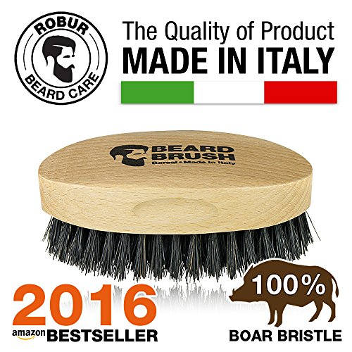Boreal-Cepillo-para-barba-hecho-en-madera-de-haya-y-cerdas-de-jabal-100-naturales-100-hecho-en-Italia