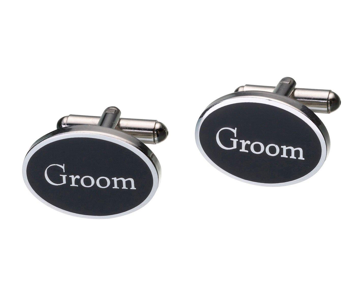 Lillian Rose Groom Cufflinks, Pair of 1-Inch
