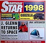 1998Geburtstag Star Grußkarte-1998Chart Hits Compilation CD Geschenk und Jahr Grüße Karten