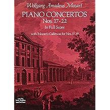 Ctos pour piano Nos 17-22 - Conducteur