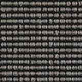 Teppichboden Auslegware | Sisal-Optik Schlinge | 400 cm Breite | grau anthrazit | Meterware, diverse Längen, Variante: 3,5 x 4m