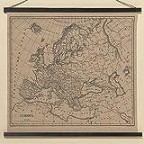 Meinposten Landkarte Europa Wandlandkarte 74x78cm Karte Bild Deko Europakarte Zum Aufhängen