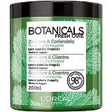 L'Oréal Paris Botanicals Coriandolo Fonte di Forza, Maschera per Capelli Fragili o Danneggiati, 200 ml