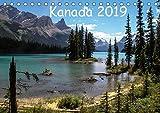 Kanada 2019 (Tischkalender 2019 DIN A5 quer): Berge und Seen im Westen Kanadas (Monatskalender, 14 Seiten ) (CALVENDO Natur)