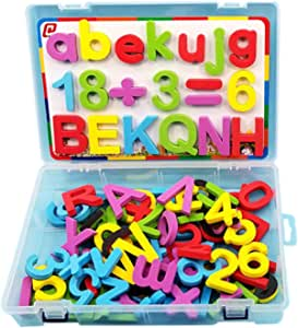 boxoon Alphabet Magnet Kit Creative Magnet Letter Alphabet Educational Toy Kids Magnet Letters and Numbers