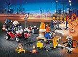 PLAYMOBIL Adventskalender 2018 - Feuerwehreinsatz auf der Baustelle - 9486
