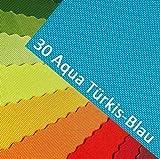 novely OXFORD 600D Farbe 30| Türkisblau Aqua Polyester