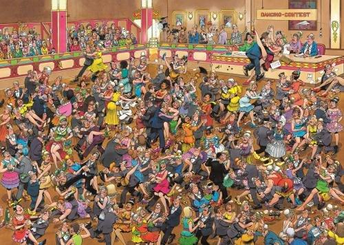 Imagen principal de Jumbo - Puzzle Ballroom Dancing, 1000 piezas (01617)