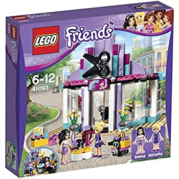 Lego friends 41093 jeu de construction le salon de coiffure d 39 heartlake city - Salon de coiffure lego friends ...