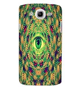 SAMSUNG GALAXY MEGA 5.8 EYE Back Cover by PRINTSWAG