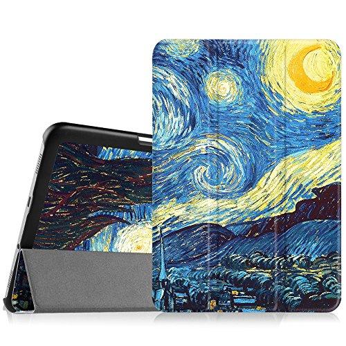 Fintie Samsung Galaxy Tab S2 8.0 Custodia - Ultra Sottile Di Peso Leggero Tri-Fold Case Cover Con Funzione Auto Sonno/Sveglia per Tablet Samsung Galaxy Tab S2 8.0' (8 pollici), Starry Night