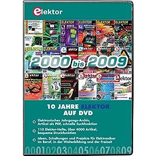 Elektor-DVD 2000-2009: Alle Elektor-Artikel der Jahre 2000 bis 2009 auf DVD