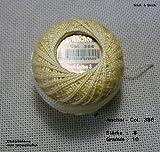 10 gr. Perlgarn, Stärke 8, Farbe: 386, Fabrikat: Anchor, Hardanger