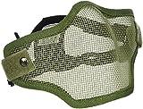 Swiss Arms Masque de Protection Bas visage/c60 Olive Kaki Vert
