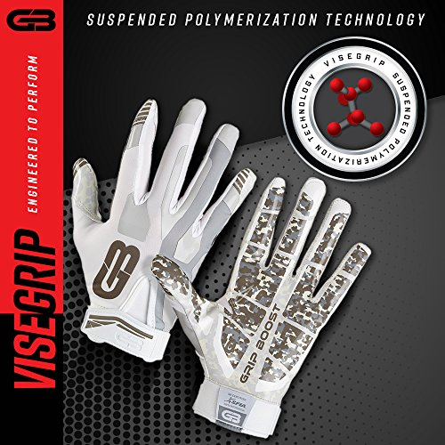 Grip Boost Stealth Football Gloves Pro Elite  Small