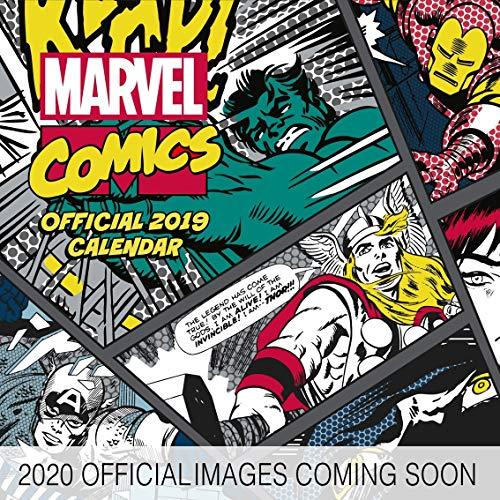 Marvel Comics 2020 Calendar - Official Square Wall Format Calendar - Film Kalender