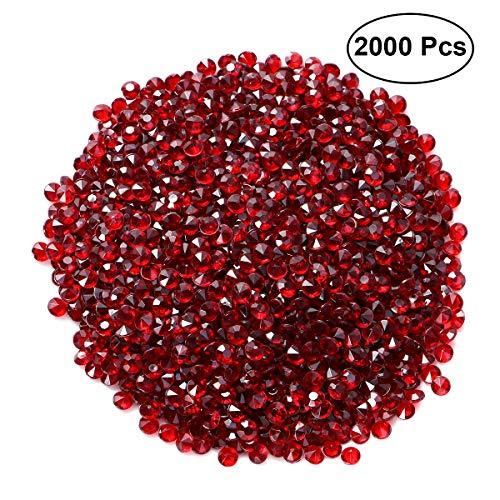 HEALIFTY 2000 piezas 4,5 mm transparente mesa de boda mesa de cristales dispersos acrílico diamantes de boda novia fiesta decoración jarrón rellenos