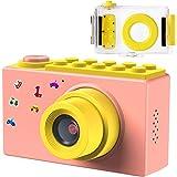 Samoleus Macchina Fotografica per Bambini, Fotocamera Digitale Subacquea Impermeabile, Digital Camera Kids Videocamera HD 108