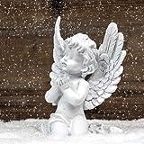 20er Pack Servietten Engel im Schnee, 33 x 33 cm