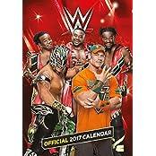 World Wrestling Official 2017 A3 Calendar
