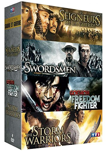 collection-sabre-et-guerre-les-seigneurs-de-la-guerre-swordsmen-goemon-the-freedom-fighter-the-storm