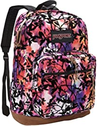 JanSport rechts Pack Expressions Multi Rainbow Rucksack 1900 cu in