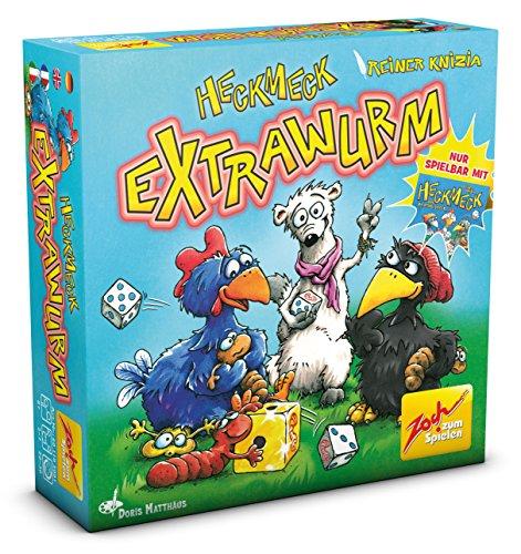 Preisvergleich Produktbild Zoch 601105081 - Heckmeck Extrawurm - Erweiterungsset, Aktions- und Geschicklichkeitsspiele