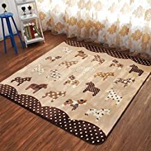 Tapis motif cheval for Amazon tapis de salon