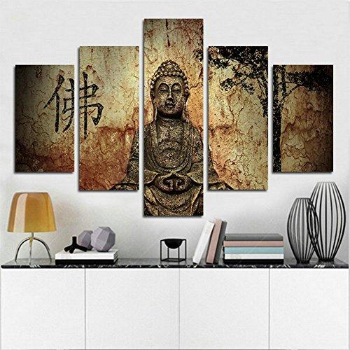 XrsArt 5 Pannello di sintesi stampato Buddha