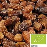 """dátiles """"Deglet Nour"""" 5kg, deshidratados y deshuesados, frutos secos delicados de cultivo biológico-controlado, no-sulfurados y sin azúcar"""