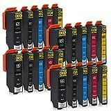 20 Druckerpatronen kompatibel zu Epson 33-XL passend für Epson Expression Premium XP-530 XP-540 XP-630 XP-635 XP-640 XP-645 XP-830 XP-900