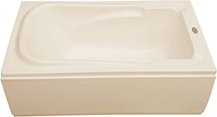MADONNA Bonn Acrylic 4.5 feet Freestanding Bathtub - White