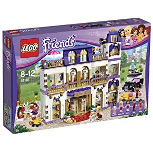 LEGO - 41101 - Friends - Jeu de construction - Le Grand Hôtel de Heartlake City