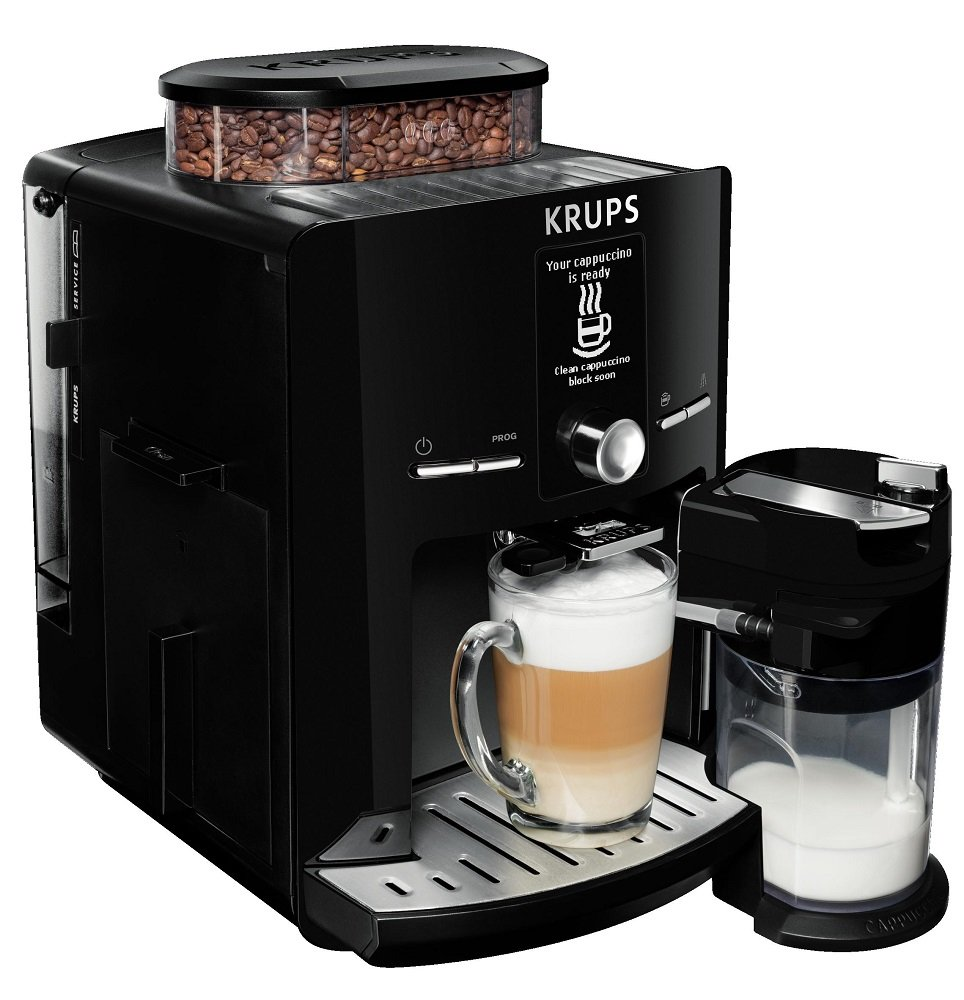 KRUPS-Kaffeevollautomat-LattEspress-One-Touch-Funktion-17-l-15-bar-LC-Display