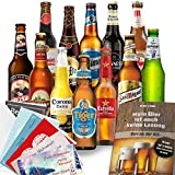 Biere der Welt 12 Flaschen - MÄNNERGESCHENK