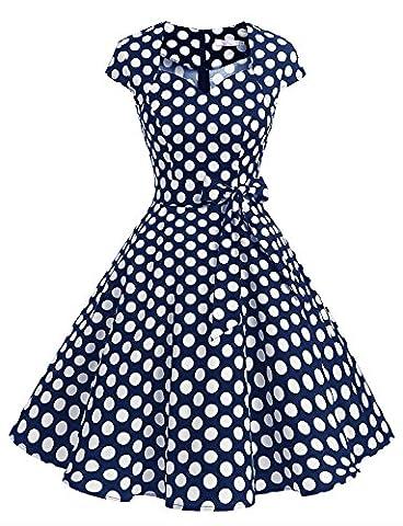 Audrey Hepburn Costumes - Dressystar DS1955 Robe à 'Audrey Hepburn' Classique