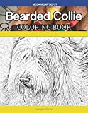 Bearded Collie Coloring Book