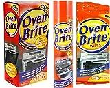 Au four et grill-Kit de nettoyage (Spray liquide nettoyant, four, four Lingettes,...