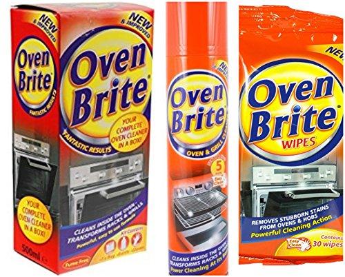Ofen & Grill Reinigung Kit-(Reinigung Liquid, Ofen Spray, Ofen Tücher, Handschuhe & Flasche Tasche)-von pajee TM (Heavy-duty-ofen-reiniger)