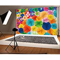 YongFoto 1,5x1m Vinilo Fondos Fotograficos 3D Flor de Papel Pared de Flores Floral de Moda Abstracto Fondos para Fotografia Fiesta Boda Adulto Retrato Cumpleaños Personal Estudio Fotográfico Accesorios