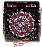 elektronische Dartscheibe Dartboard CB-50 inkl. 12 Roleo Dartpfeile