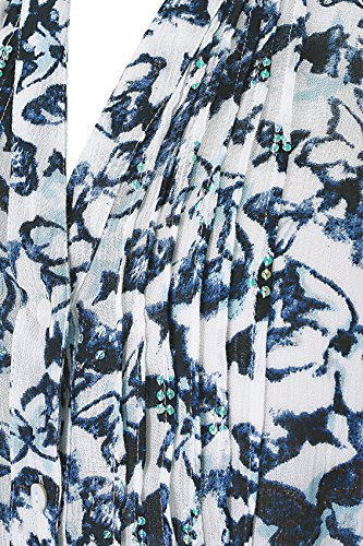 Yours Clothing - Chemisier - Avec taille nouée - Imprimé Animal - Col Chemise Italien - Manches Longues - Femme Bleu Marine