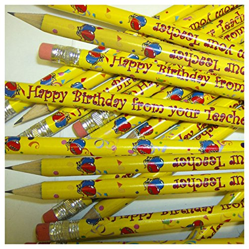 primary-teaching-services-ltd-gp9-pack-of-12-happy-birthday-metallic-finish-pencils