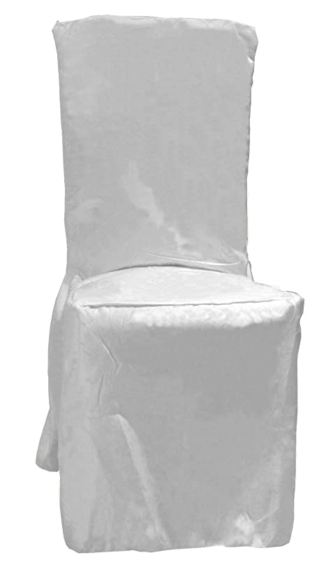 chair covers amazon. dining chair covers plain with pleats in 3 colors (white): amazon.co.uk: kitchen \u0026 home chair covers amazon s