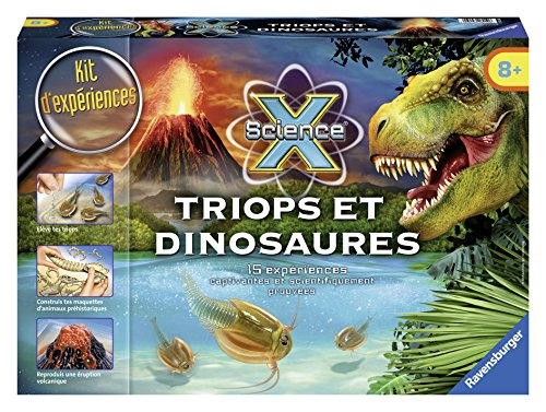 Ravensburger - 18910 - Triops Et Dinosaures - Maxi Science X