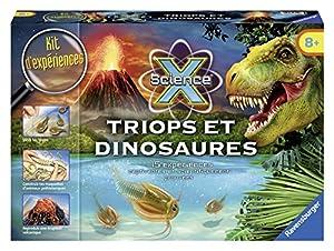 Ravensburger - Juguete educativo de geología Dinosaurios, para 1 jugador (18910) (versión en francés)