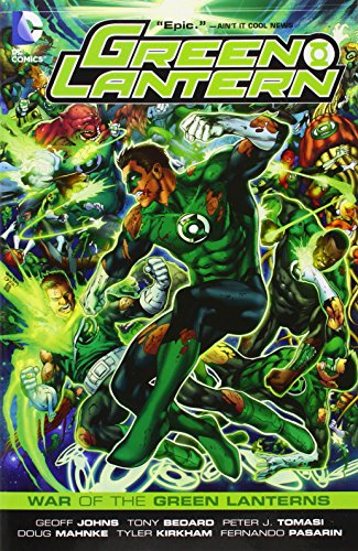 Green Lantern War Of The Green Lanterns TP