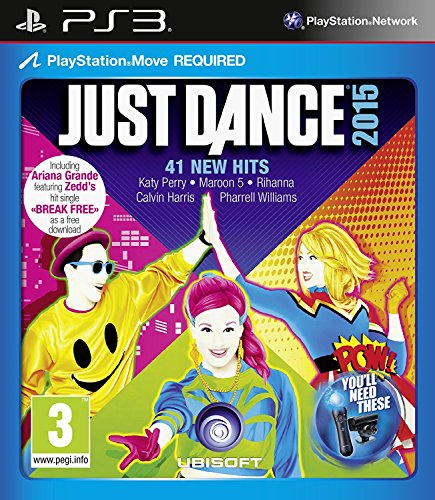 Just Dance 2015 (PS3) UK IMPORT (2015 Ps3 Dance Just)
