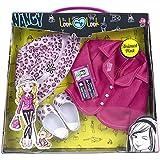 Nancy - My Look Jackets, vestidos para muñeca, color rosa (Famosa 700012073)