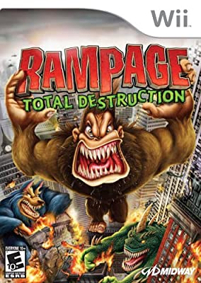 Rampage: Total Destruction (Wii) from Midway Games Ltd